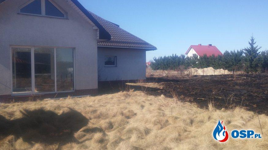 Pożar trawy w miejscowości Samborowo OSP Ochotnicza Straż Pożarna