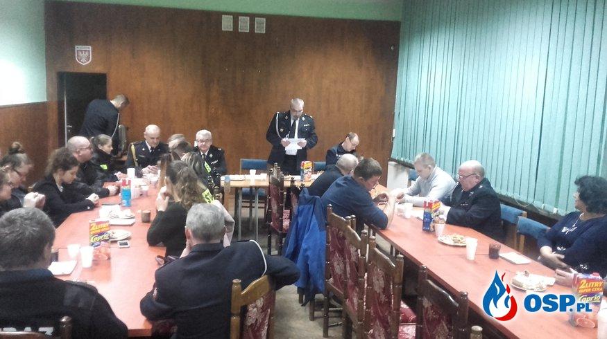 Zebranie sprawozdawcze Ochotniej Straży Pożarnej w Bledzewie OSP Ochotnicza Straż Pożarna