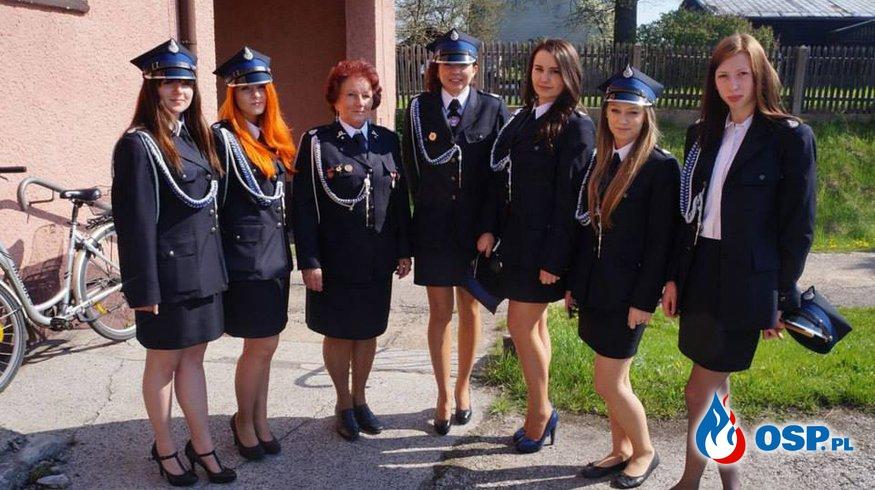Kobiety w OSP Kamienica Polska. OSP Ochotnicza Straż Pożarna