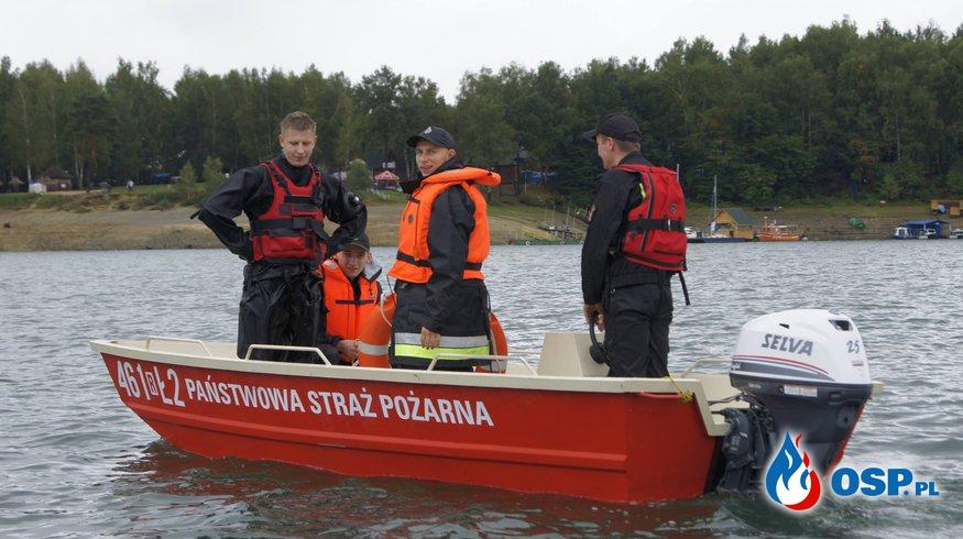 Szkolenie z zakresu ratownictwa lodowego OSP Ochotnicza Straż Pożarna