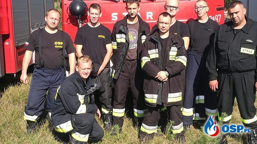 Specjalistyczne szkolenie z gaszenia pożarów gazu ziemnego. OSP Ochotnicza Straż Pożarna
