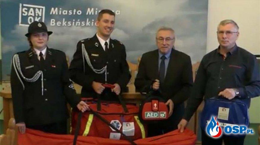 Nowy sprzęt dla naszej jednostki OSP Ochotnicza Straż Pożarna