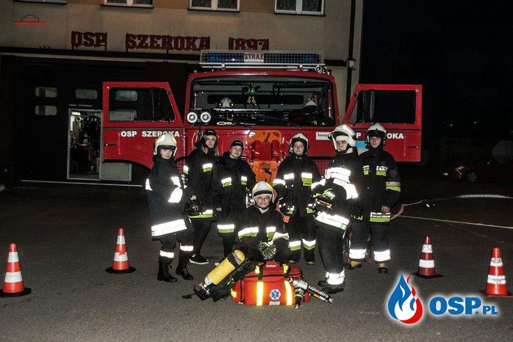 Ćwiczenia młodzieży OSP Ochotnicza Straż Pożarna
