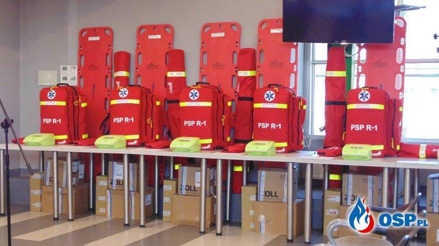 NOWY SPRZĘT OSP Ochotnicza Straż Pożarna