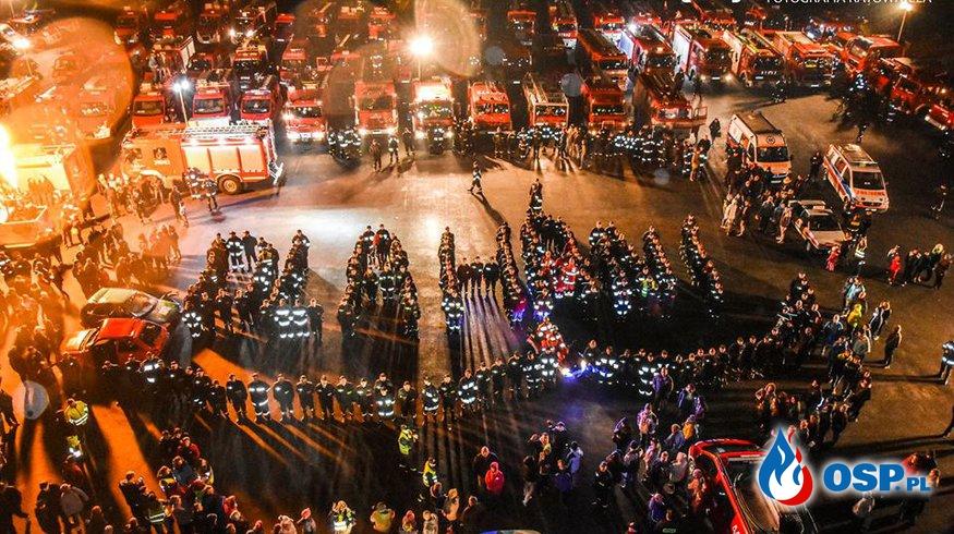 OSP Sieklówka POMAGA !!! Strażacka jazda nocą dla HANI <3 OSP Ochotnicza Straż Pożarna