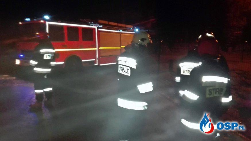 Nieznana substancja. 20.01.2019r. Cerkwica OSP Ochotnicza Straż Pożarna