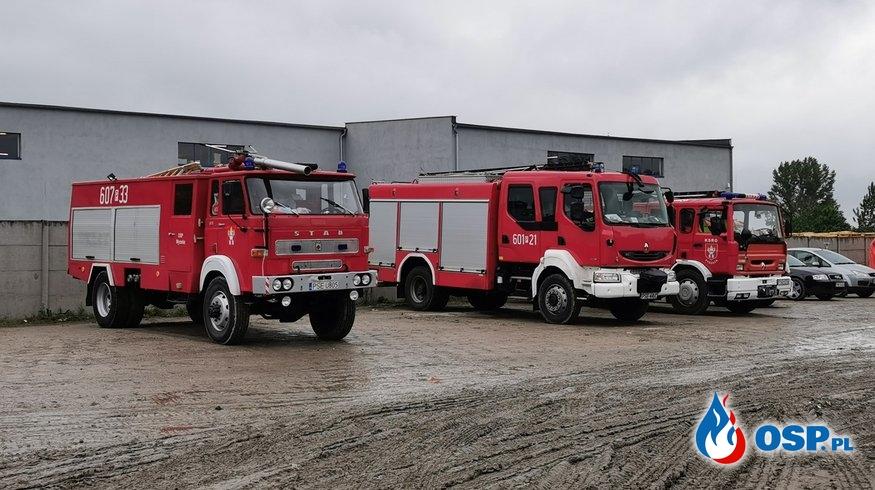 Ostatnie wyjazdy i zakończenie działań w Pyszącej. OSP Ochotnicza Straż Pożarna