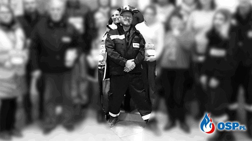 Naczelnik OSP Mosiny zmarł w trakcie akcji. Józef Bryza miał 58 lat. OSP Ochotnicza Straż Pożarna