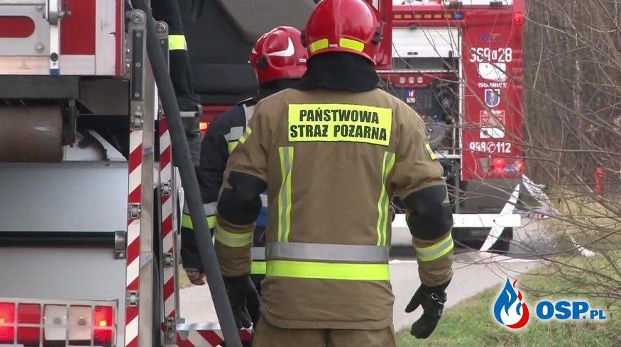 Metalowy pierścień utknął na przyrodzeniu mężczyzny. Interweniowali strażacy. OSP Ochotnicza Straż Pożarna