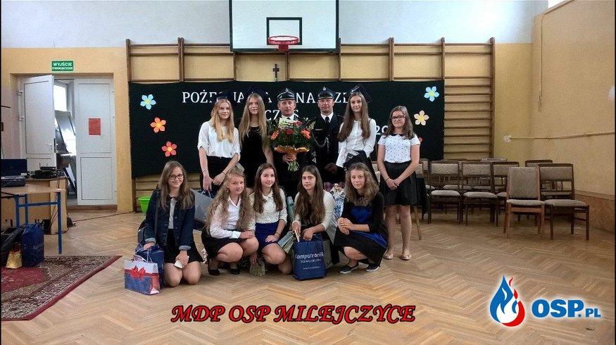 Zakończenie roku szkolnego z udziałem OSP Milejczyce OSP Ochotnicza Straż Pożarna