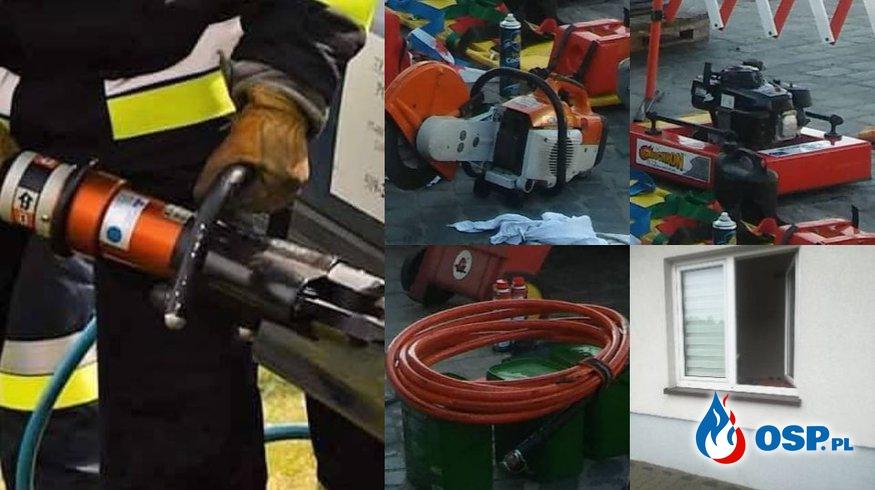 Kolejni strażacy okradzeni. Nie mogli wyjechać do poważnego wypadku! OSP Ochotnicza Straż Pożarna