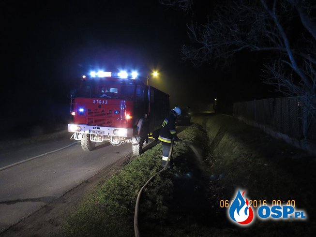 Zdarzenie 3/2016 - Pożar sadzy w kominie w Stypułowie OSP Ochotnicza Straż Pożarna