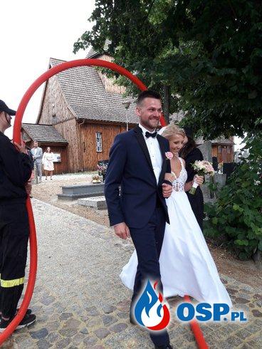 Ślub druha Mateusza z OSP Laski OSP Ochotnicza Straż Pożarna