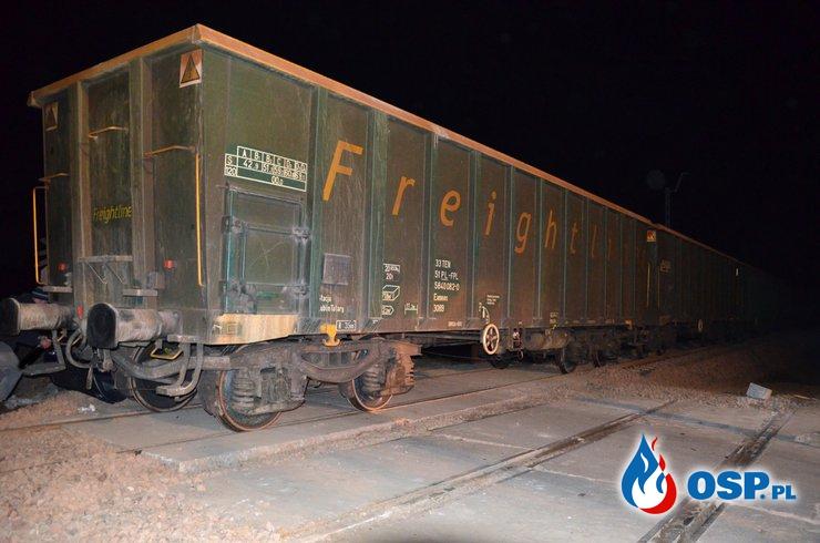 17.11.2018 r. godz. 17.05 Kolizja na przejeździe kolejowym OSP Ochotnicza Straż Pożarna