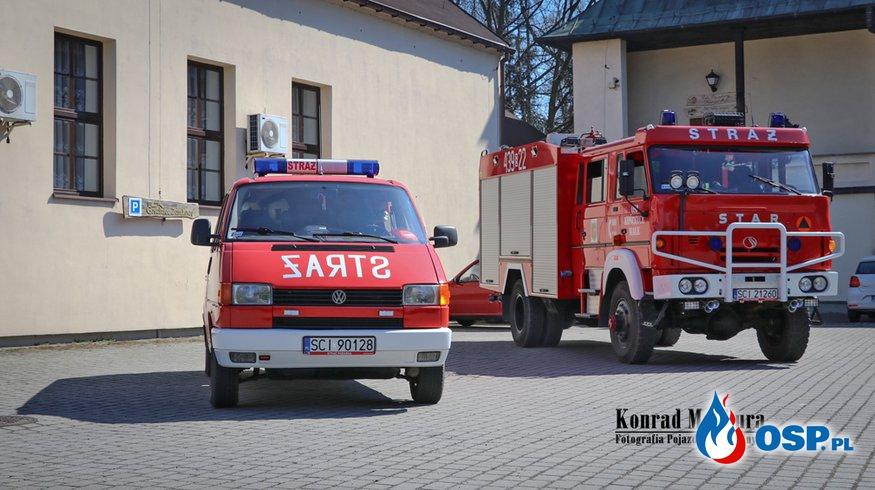 Sesja fotograficzna w naszej jednostce OSP Ochotnicza Straż Pożarna