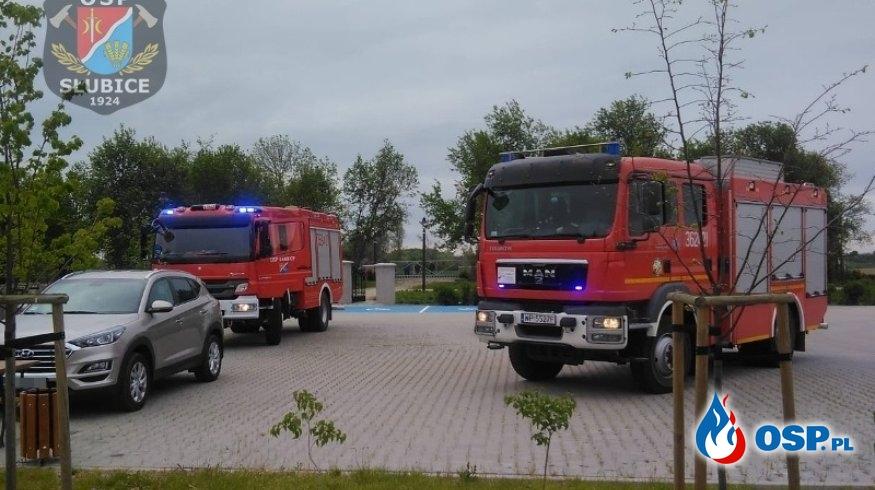 Monitoring przeciwpożarowy zaalarmował strażaków OSP Ochotnicza Straż Pożarna