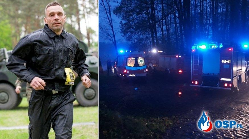 Strażak po służbie uratował wędkarzy, którzy wpadli do wody OSP Ochotnicza Straż Pożarna