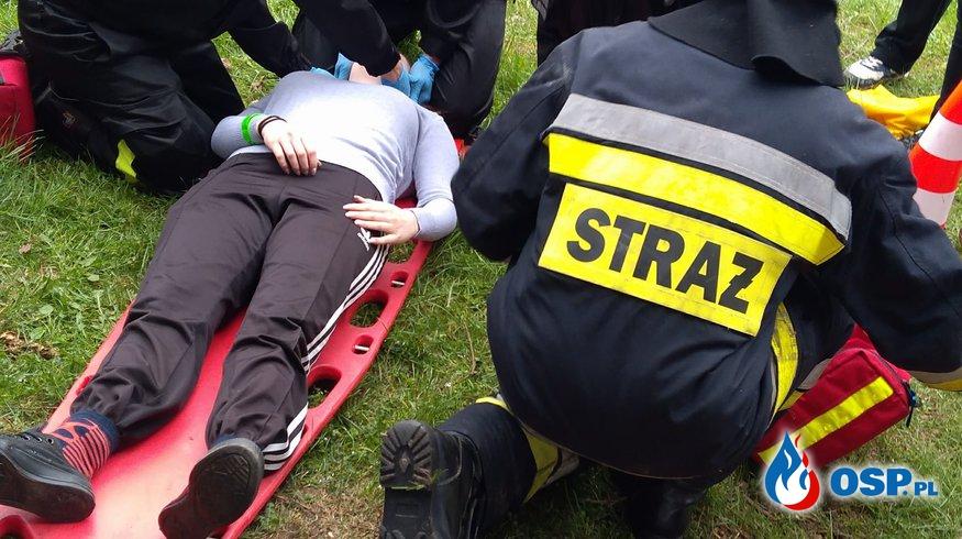 """Zabezpieczenie """"IV Mistrzostw w Ratownictwie Medycznym""""  OSP Ochotnicza Straż Pożarna"""