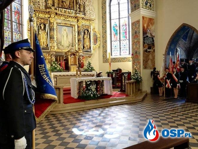 3 maja 2019 - Msza św. za Ojczyznę oraz w intencji strażaków OSP Ochotnicza Straż Pożarna