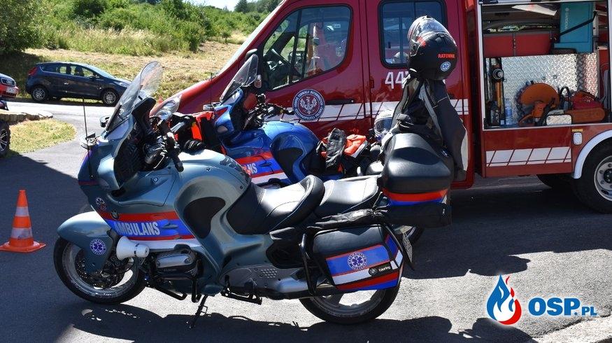 Wolontariusz Fundacji Ratownictwo Motocyklowe Polska zginął w wypadku na A4. OSP Ochotnicza Straż Pożarna