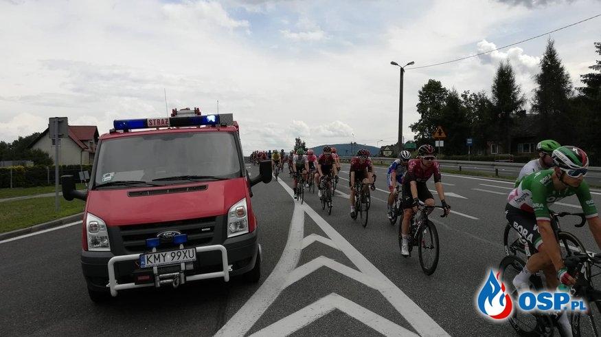 Zabezpieczenie I i V Etapu 76. Tour de Pologne OSP Ochotnicza Straż Pożarna