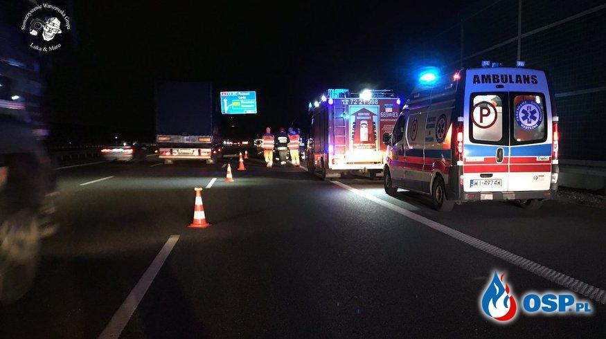 """Strażak potrącony na miejscu wypadku. """"Potem było już tylko gorzej."""" OSP Ochotnicza Straż Pożarna"""
