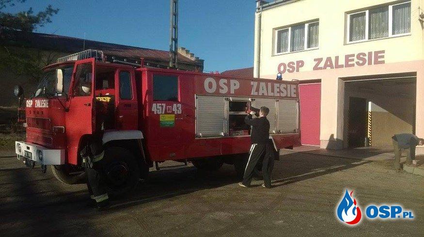 Inspekcja Gotowości Bojowej (23.12.2015) OSP Ochotnicza Straż Pożarna