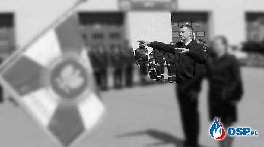 Maciej Ciunowicz odznaczony pośmiertnie Złotym Medalem Za Zasługi dla Pożarnictwa. OSP Ochotnicza Straż Pożarna