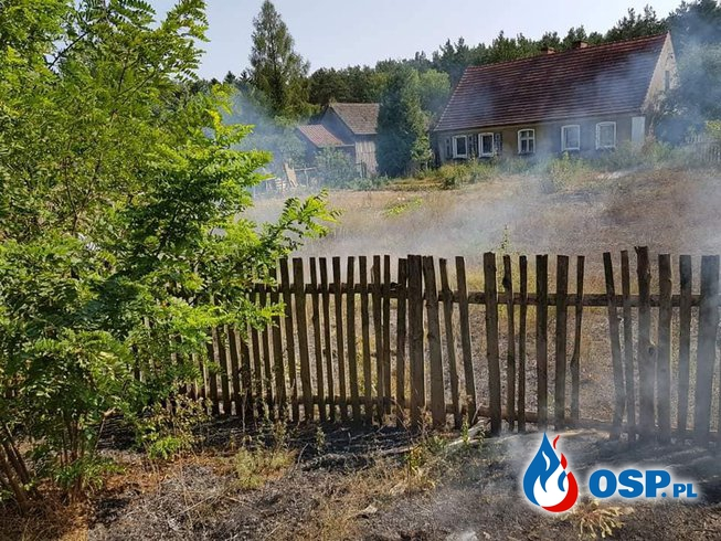 Groźny Pożar Traw w pobliżu budynków mieszkalnych !! OSP Ochotnicza Straż Pożarna