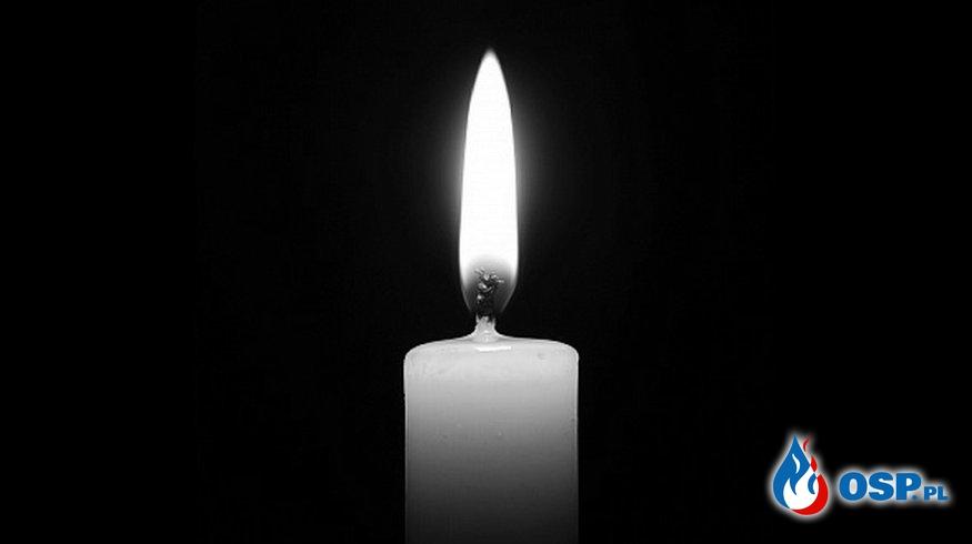 Pogrzeb druha Józefa Kozyry. OSP Ochotnicza Straż Pożarna
