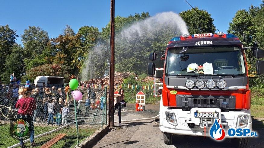 Festyn z okazji Dnia Przedszkolaka. OSP Ochotnicza Straż Pożarna