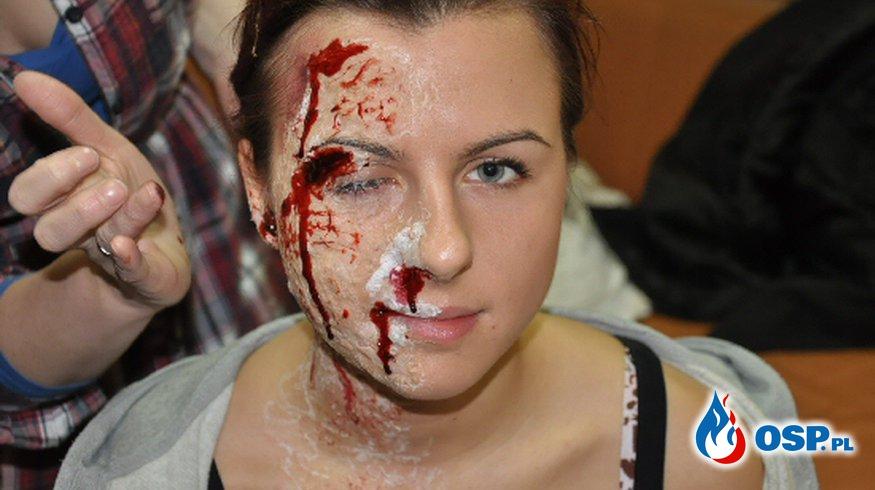 Fajerwerki - Ostrzeżenie i drastyczne zdjęcia!! OSP Ochotnicza Straż Pożarna