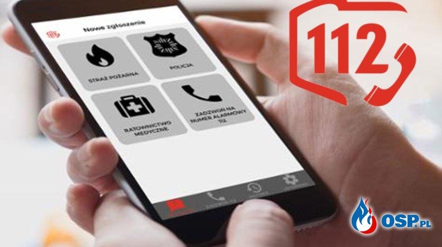 Alarm 112 – aplikacja mobilna do zgłaszania zagrożeń OSP Ochotnicza Straż Pożarna