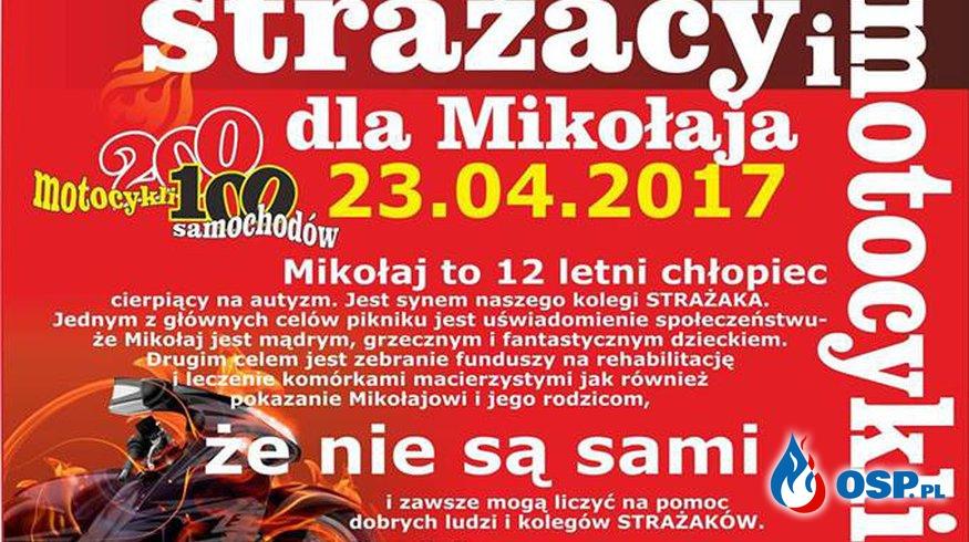 Strażacy i Motocykliści dla Mikołaja OSP Ochotnicza Straż Pożarna