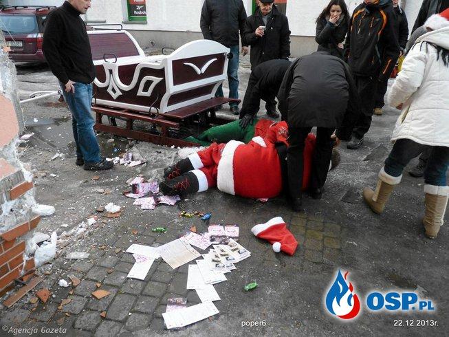 Do wypadku doszło tuż przed 10 rano OSP Ochotnicza Straż Pożarna