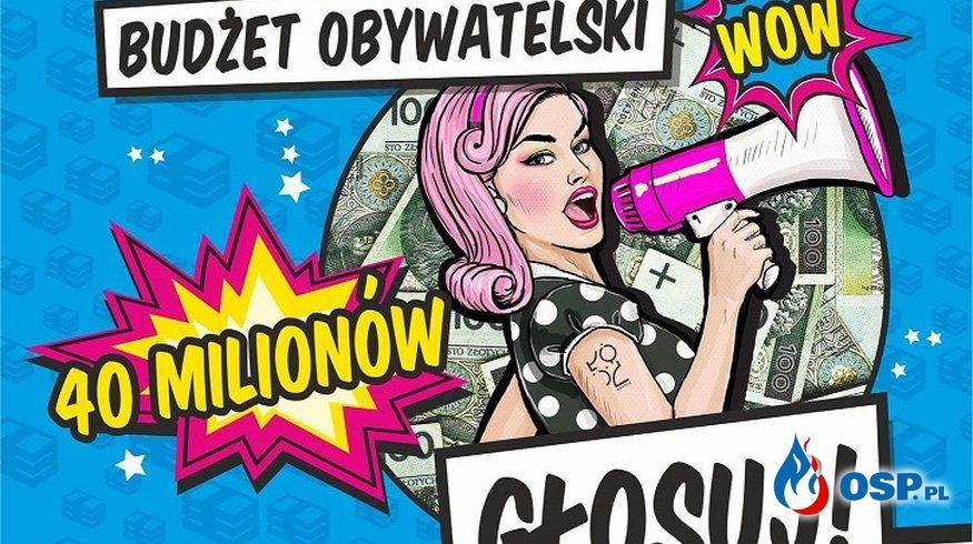 Łodzianie! Głosujcie na nasz projekt! OSP Ochotnicza Straż Pożarna