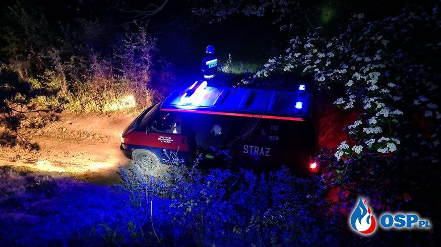 86/2020 Poszukiwania zaginionego mężczyzny OSP Ochotnicza Straż Pożarna