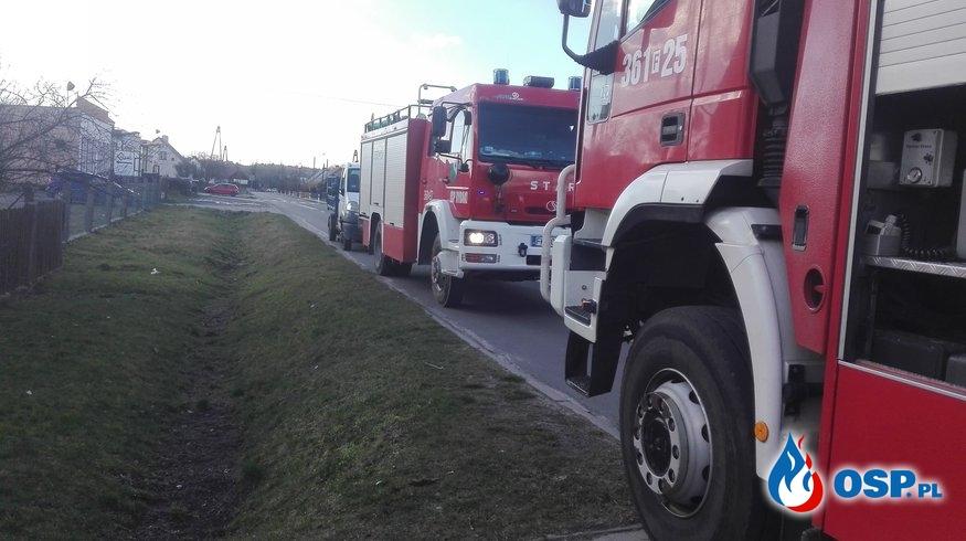 Pożar sadzy w kominie OSP Ochotnicza Straż Pożarna