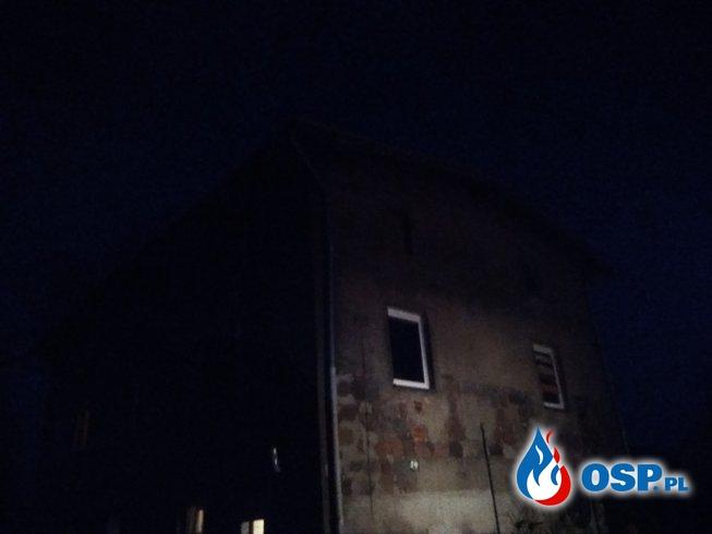 18.03.2018r. Pożar przewodu kominowego m.Bińcze OSP Ochotnicza Straż Pożarna