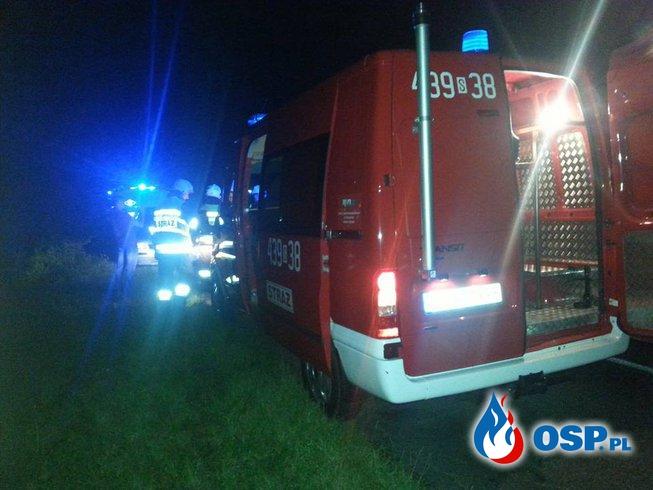 Zdarzenie drogowe OSP Ochotnicza Straż Pożarna
