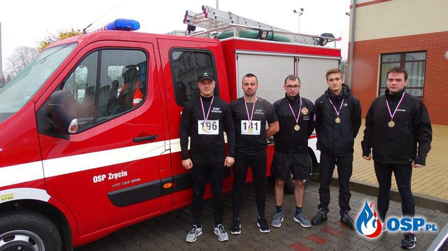 XIX Bieg Niepodległości w Krośnie OSP Ochotnicza Straż Pożarna
