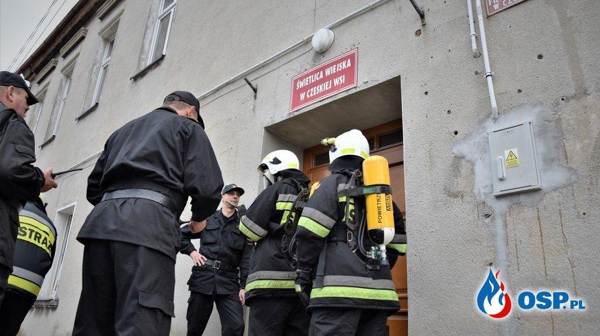 Gminne Manewry Jednostek OSP w Czeskiej Wsi OSP Ochotnicza Straż Pożarna