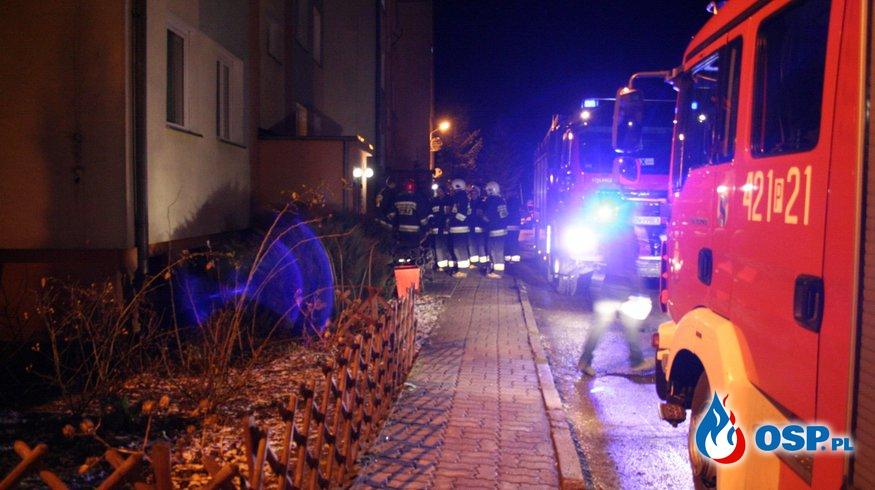 Wyczuwalny Gaz w bloku mieszkalnym! OSP Ochotnicza Straż Pożarna