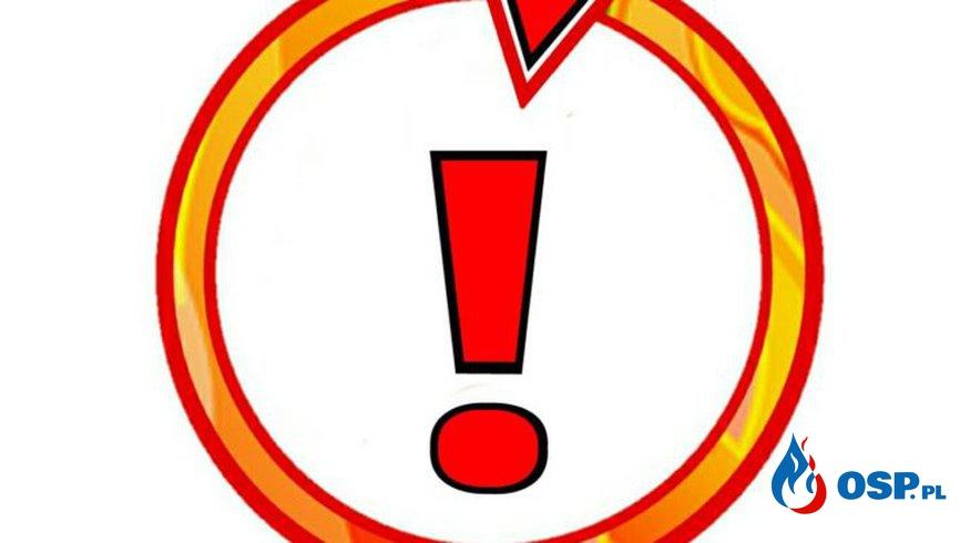 Wronki – pożar opony OSP Ochotnicza Straż Pożarna