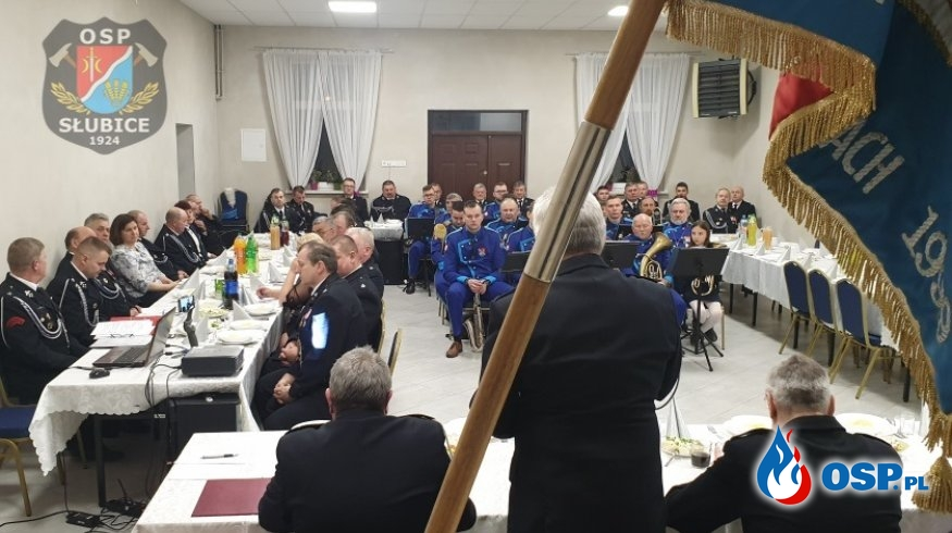 Walne Zebranie Członków OSP w Słubicach OSP Ochotnicza Straż Pożarna
