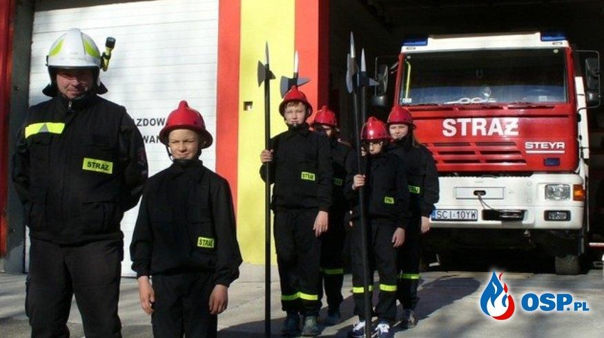 Warta przy Grobie Jezusa OSP Ochotnicza Straż Pożarna