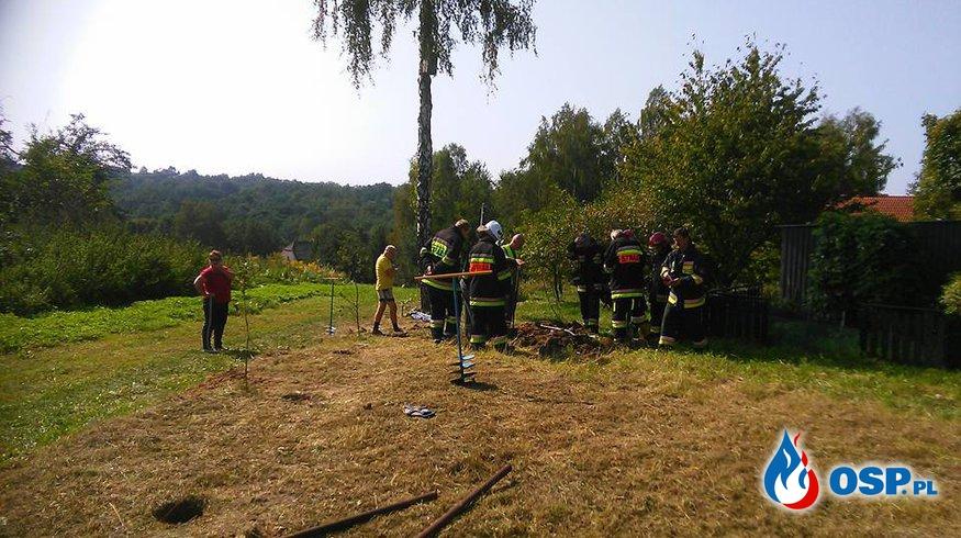 Ulatniający się gaz OSP Ochotnicza Straż Pożarna