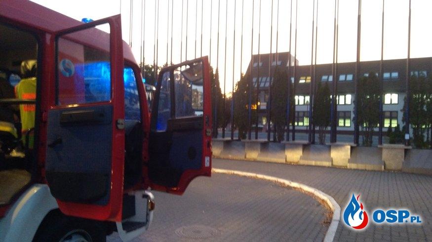 Fałszywy alarm pożarowy w hali widowiskowo-sportowej OSP Ochotnicza Straż Pożarna