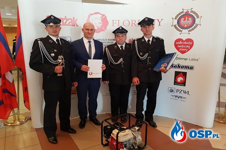 Floriany - Ogólnopolskie przedsięwzięcie na rzecz rozwoju, edukacji i integracji społeczności lokalnych OSP Ochotnicza Straż Pożarna