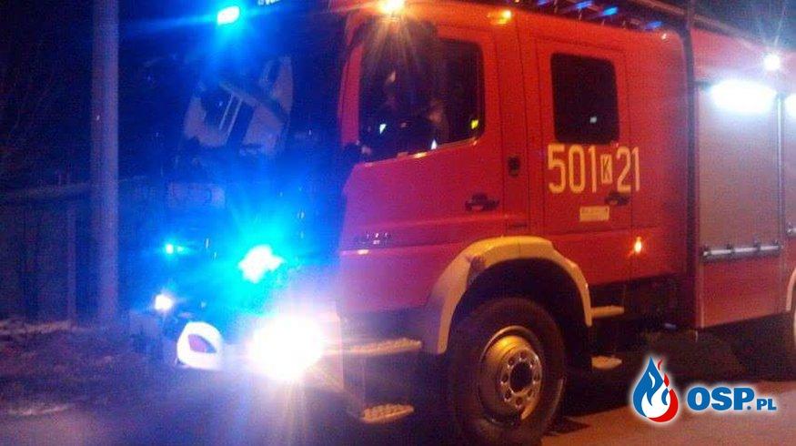 03.01.2016r.  23:11  Pożar domu. OSP Ochotnicza Straż Pożarna